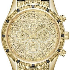 Michael Kors Layton MK2310 Gold Black Watch 044M